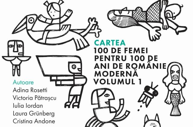 Poster proiect Nesupusele - 100 de femei pentru 100 de ani de România modernă